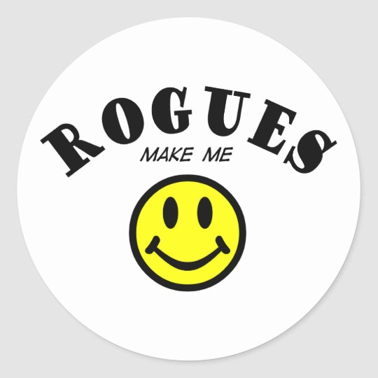 MMS: Rogues Classic Round Sticker