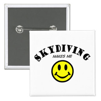 MMS: Skydiving Pinback Button