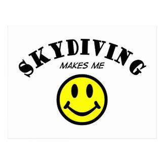 MMS: Skydiving Postcard