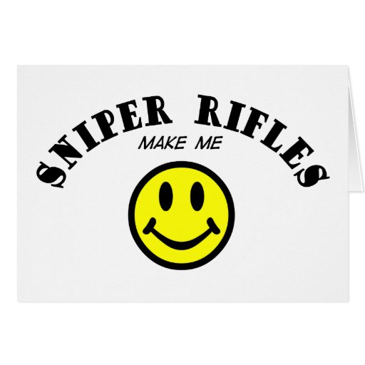 MMS: Sniper Rifles Greeting Card