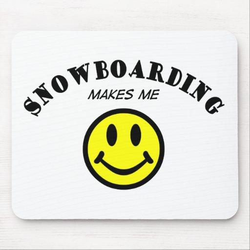MMS: Snowboard Tapetes De Ratón
