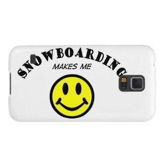 MMS: Snowboarding Galaxy S5 Case