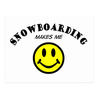 MMS: Snowboarding Post Card
