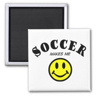 MMS: Soccer 2 Inch Square Magnet