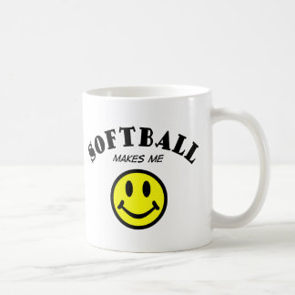 MMS: Softball Coffee Mug