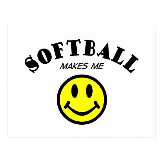MMS: Softball Postcard