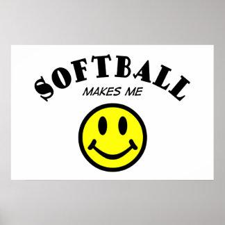MMS: Softball Poster