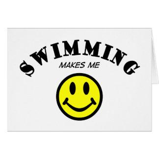 MMS: Swimming Card