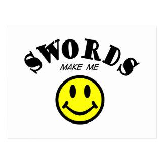 MMS: Swords Postcard