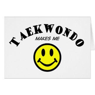 MMS: Taekwondo Card