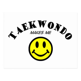 MMS: Taekwondo Postcard