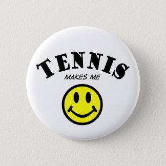 MMS: Tennis Pinback Button