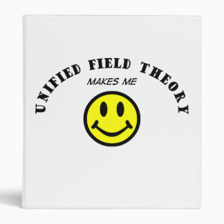 MMS: UNIFIED FIELD THEORY 3 RING BINDER