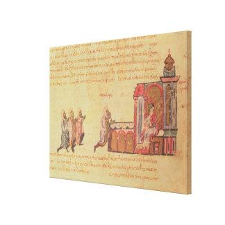 MMS Vitr 26-7 el emperador bizantino Romanus III A Lona Envuelta Para Galerias