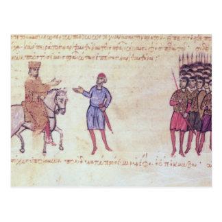 MMS Vitr 26-7 The Byzantine Army Putting to Flight Postcard