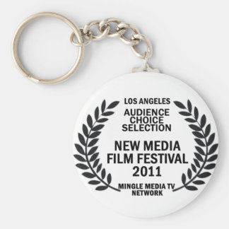 MMTVN Audience Choice Selection Basic Round Button Keychain