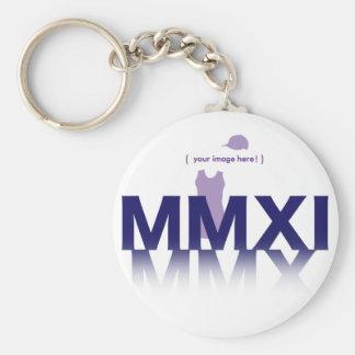 MMXI 2011, Here We Are Basic Round Button Keychain