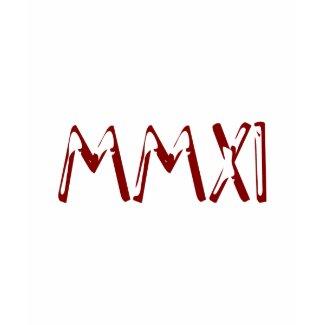MMXI 2011 shirt