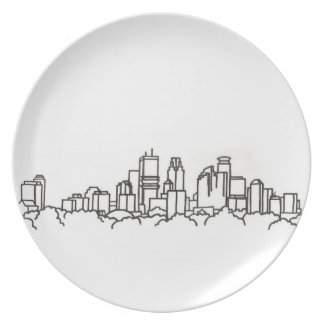 MN Capitol City Plate