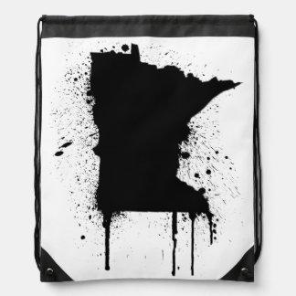 MN Graffiti Drawstring Bag