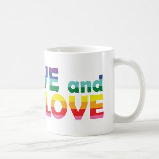 MN Live Let Love Classic White Coffee Mug