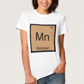 Mn - Marzipan Funny Chemistry Element Symbol Tee