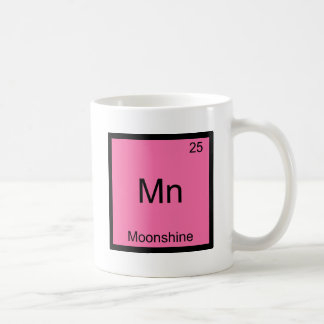 Mn - Moonshine Funny Chemistry Element Symbol Tee Coffee Mug
