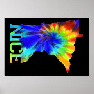 MN-Nice Tie Dye Poster