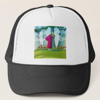 mn_number_01 trucker hat