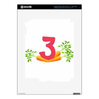 mn_number_03 iPad 3 decals