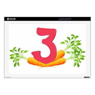 "mn_number_03 skin for 17"" laptop"