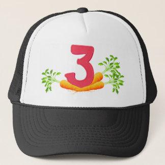 mn_number_03 trucker hat