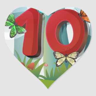 mn_number_10 heart sticker
