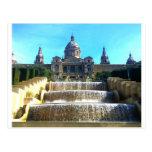 MNAC, (Art Museum) Barcelona, Spain Postcard