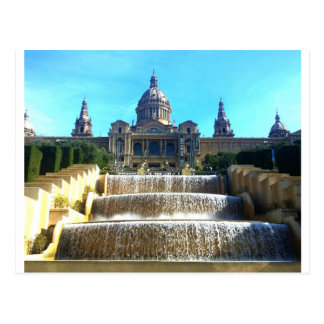 MNAC, (museo de arte) Barcelona, España Postales