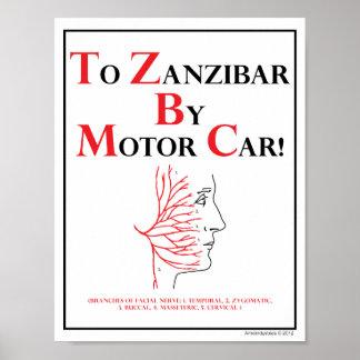 Mnemónica: A Zanzíbar en coche de motor Póster