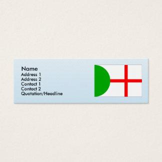 Mnetes, Czech Mini Business Card