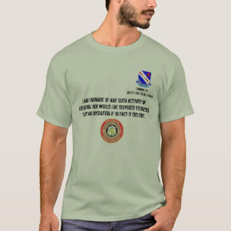 MNF-Detainee Ops, Movin T-Shirt