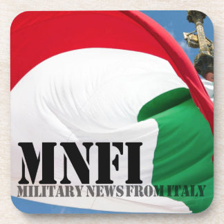 MNFI Military News Fom Italy Beverage Coaster