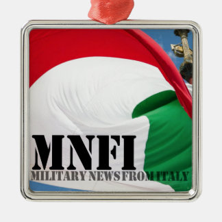 MNFI Military News Fom Italy Metal Ornament