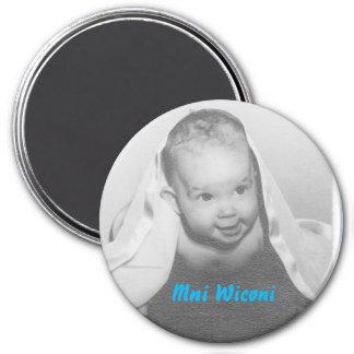 Mni Wiconi for seven generations Magnet