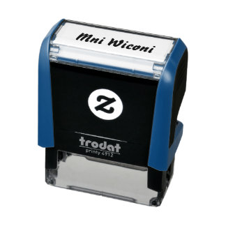 Mni Wiconi Self-inking Stamp