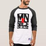 MNice o bien 3/4 camisa con mangas