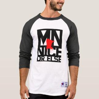 MNice o bien 3 4 camisa con mangas