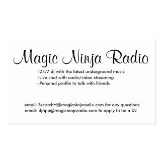 MNR Business Card