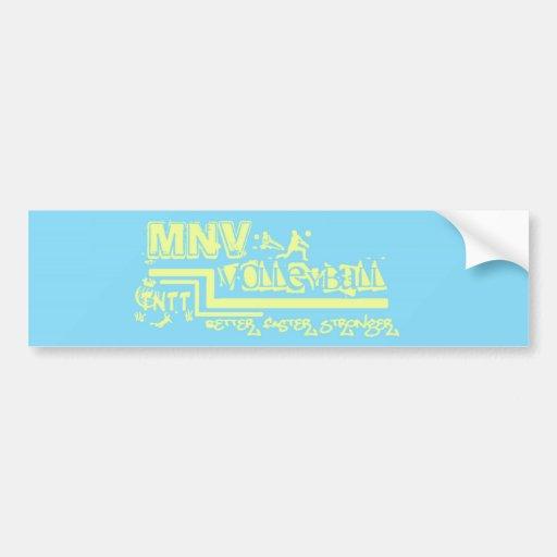 MNV Volleyball Bumper Sticker