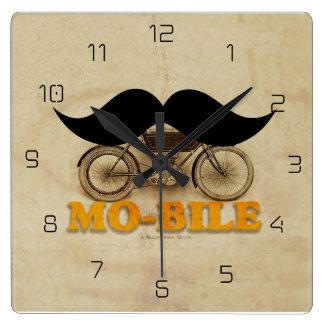 Mo-bile Square Wall Clock