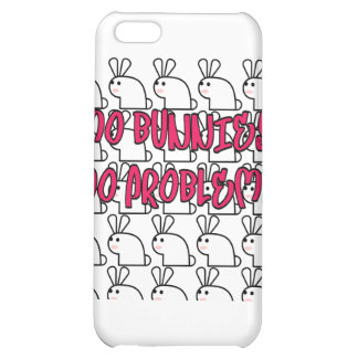 Mo Bunnies Mo Problems iPhone 5C Case