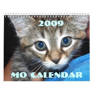 mo calendar, 2009 calendar