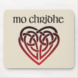 Mo Chridhe - My Heart in Scottish Gaelic Mouse Pad